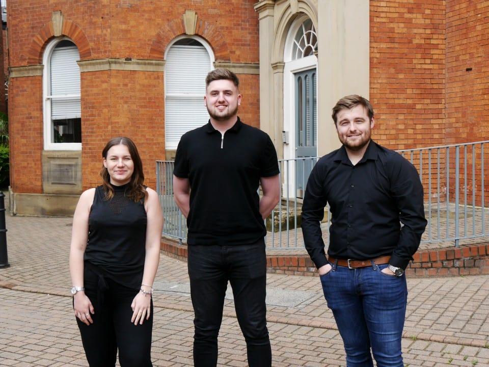 Three new faces for CODA Bespoke Architecture Team